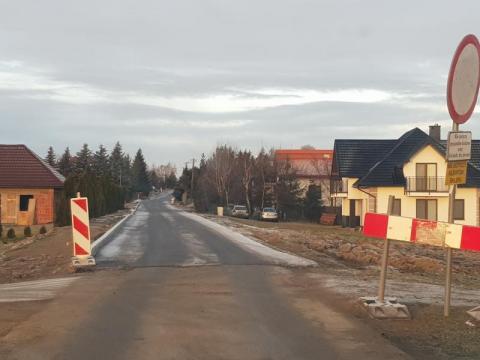 Ta droga miała być nieprzejezdna aż do kwietnia. Obecnie nie ma już utrudnień