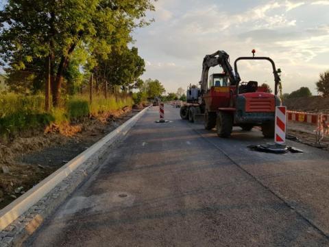 29 Listopada: dziś leją asfalt a na dniach zmienią znów organizację ruchu