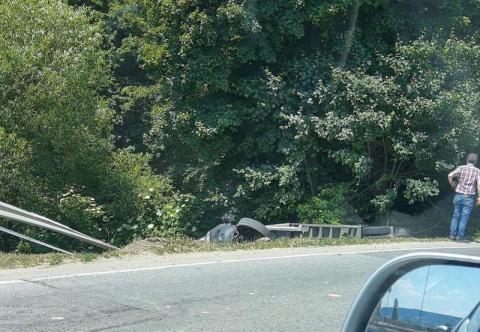Z ostatniej chwili: wypadek na DK-75 w Kurowie. Są utrudnienia w ruchu