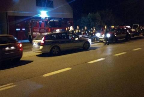 42-latek nie wrócił na noc do DPS-u. Szukają go policjanci i strażacy