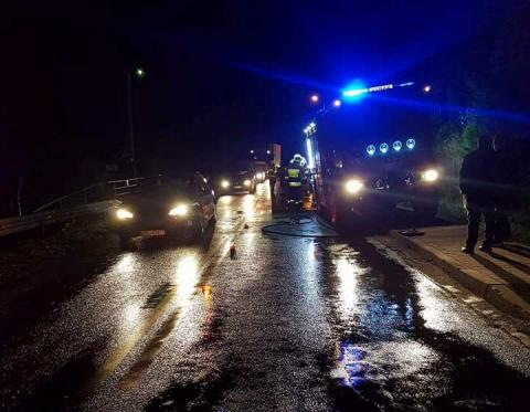 Tragiczny wypadek w Łużnej: auto potrąciło mężczyznę. Mimo reanimacji zmarł