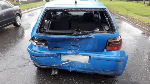 Wypadek w Nowym Sączu. Zderzyły się dwa samochody, a co z ludźmi?