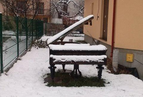 Zima zaskoczyła nawet muzyków!