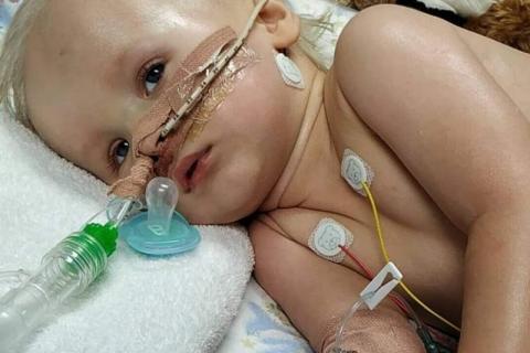 Nikuś walczy o życie w szpitalu w Dublinie. Chłopiec potrzebuje naszej pomocy