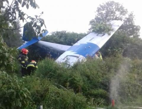 Samolot runął na ziemię. Na pokładzie byli mieszkańcy Limanowszczyzny