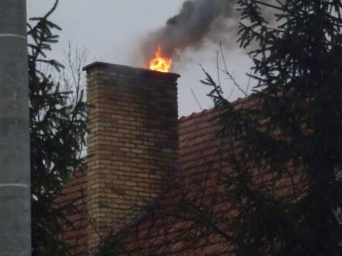 Pożar za pożarem. Palą się sadze w kominach