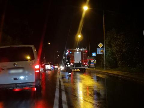 Z ostatniej chwili: wypadek w Limanowej. Samochód potrącił kobietę