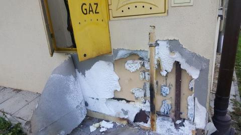 Pożar w Korzennej. Płonęła elewacja Ośrodka Zdrowia