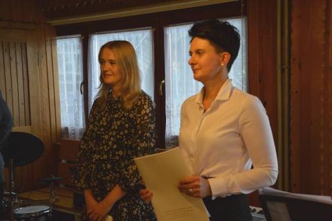 Paulina Kosiniak-Kamysz odwiedziła dom dziecka w Żmiącej