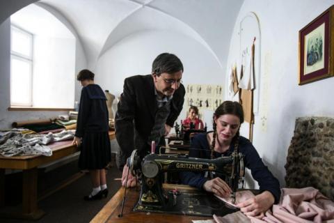 Film o Bolesławie Barbackim, fot. Piotr Droździk