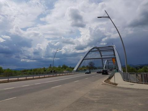 pomiary na moście heleńskim, fot. Iga Michalec