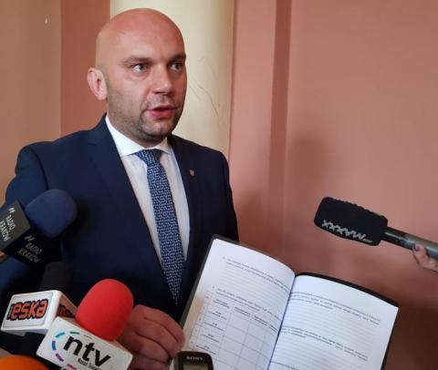 Artur Bochenek, wiceprezydent Nowego Sącza, fot. Iga Michalec