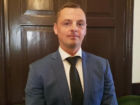 Radny Dawid Dumana, fot. Iga Michalec