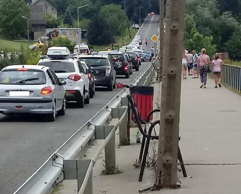 Dramatyczny wypadek w Gródku nad Dunajcem. Samochód potrącił dziecko