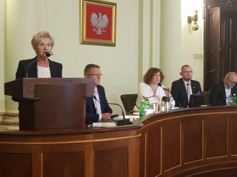 Radna Teresa Cabała, fot. Iga Michalec