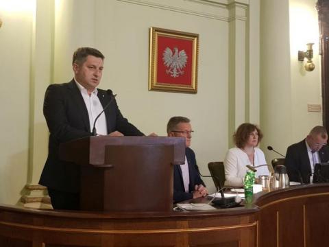 Wiceprezes Sądeckich Wodociągów Sławomir Rajski, fot. Iga Michalec