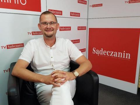 Radny Michał Kądziołka, fot. Iga Michalec