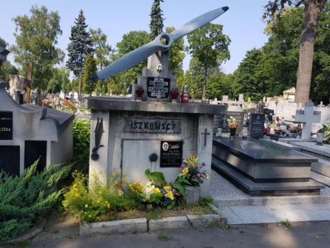 Grobowiec majora Jezrego Iszkowskiego zostanie odnowiony, fot. Iga Michalec