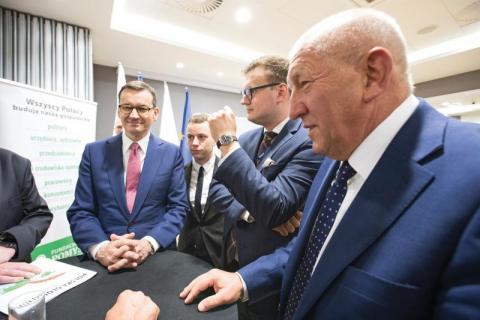 Premier Morawiecki gościem sądeckiej Fundacji Pomyśl o Przyszłości