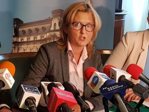 Magdalena Majka, wiceprezydent Nowego Sącza, fot. Iga Michalec