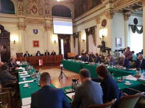 Sesja Rady Miasta Nowego Sącza, fot. Iga Michalec