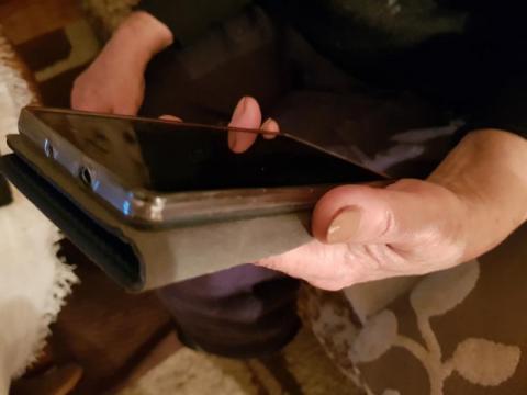 telefon antysmogowy uruchomiony, fot. Iga Michalec