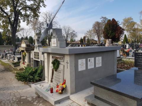 Grobowiec Jerzego, Erazma Iszkowskiego po renowacji, fot. Iga Michalec