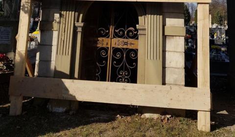 Grobowiec Mleczków będzie restaurowany, fot. Iga Michalec