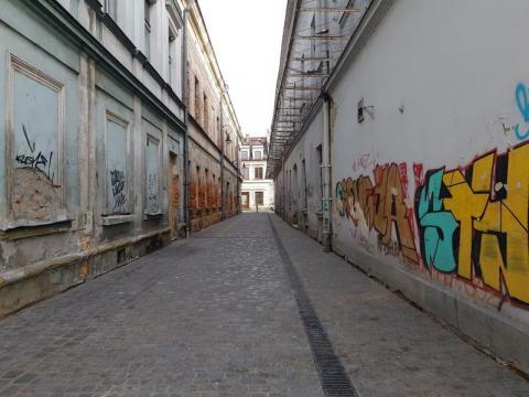 Ulica Wąska wyremontowana, fot. Iga Michalec