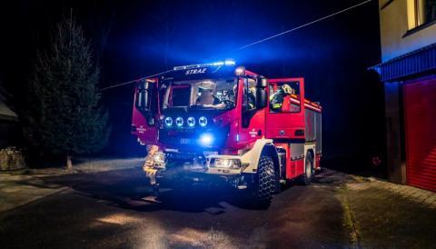 Takie cacko dostali na święta strażacy z OSP w Moszczenicy Wyżnej