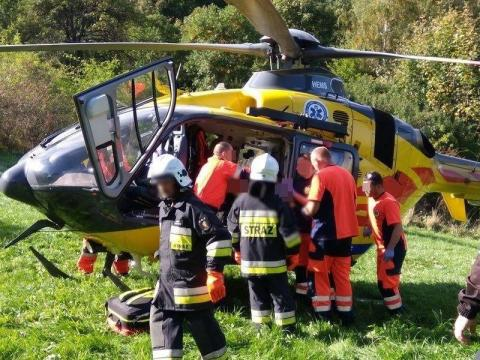 Dramatyczny wypadek w Gródku nad Dunajcem. W jakim stanie jest ranne dziecko?