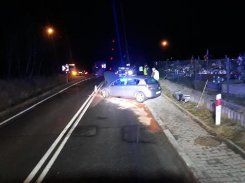 Samochód potrącił matkę z córką. Obie trafiły do szpitala