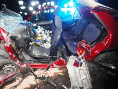 Tragiczny finał wypadku w Miliku. Nie żyje nastolatka i mało dziecko