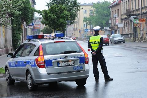 Policja na Grodzkiej