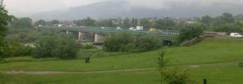 Nowy Sącz: Na Dunajcu stanie most zastępczy. Helena idzie do rozbiórki