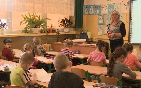 Lekcja w klasie I