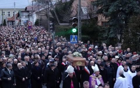 Pogrzeb śp Stanisława Fiołka