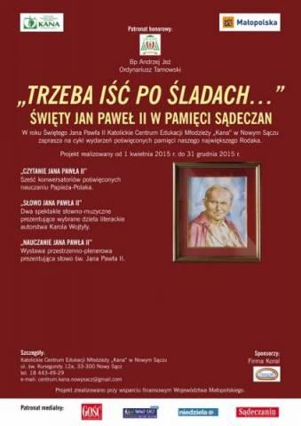 Jan Paweł II w pamięci Sądeczan