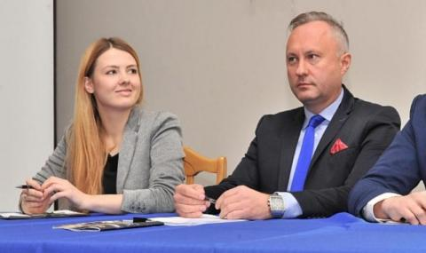 Zielińska i Handzel wzięli polityczny śub