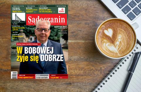 """Sierpniowe wydanie miesięcznika """"Sądeczanin"""". Zaglądamy do spisu treści"""