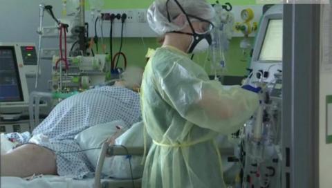 Wstrzymane przyjęcia w szpitalu. Epidemia przybrała na sile w Małopolsce