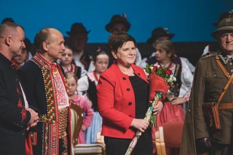 """Premier Beata Szydło dla """"Sądeczanina"""": zdecydowała wola Sądeczan"""