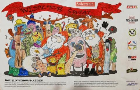 Konkurs świąteczny miesiecznika Sądeczanin