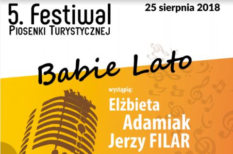 """Przed nami Festiwal Piosenki Turystycznej """"Babie Lato"""""""