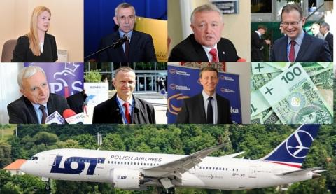 """Ile pieniędzy """"wylatali"""" samolotami sądeccy posłowie"""
