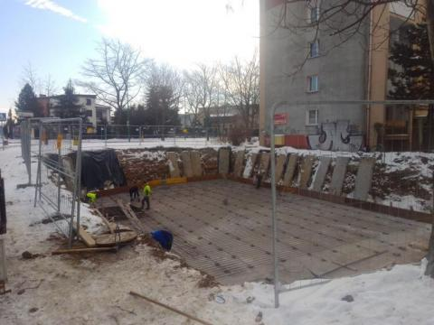 Nowy Sącz: Ogromne wykopy przy ulicy gen. Józefa Hallera. Co tam powstanie?