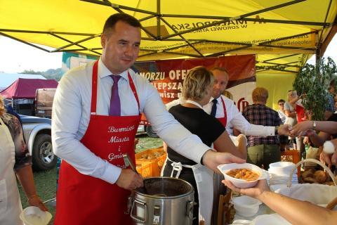 Burmistrz miasta i gminy Zakliczyn zaprasza na święto fasoli