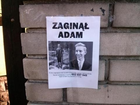 Zaginął Adam Koncewicz