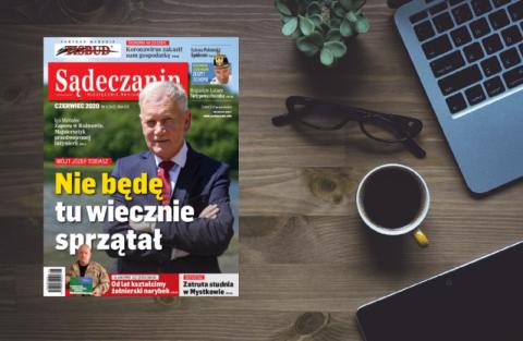 """Leszek Mazan znów w """"Sądeczaninie""""! Czerwcowy miesięcznik już w sprzedaży"""