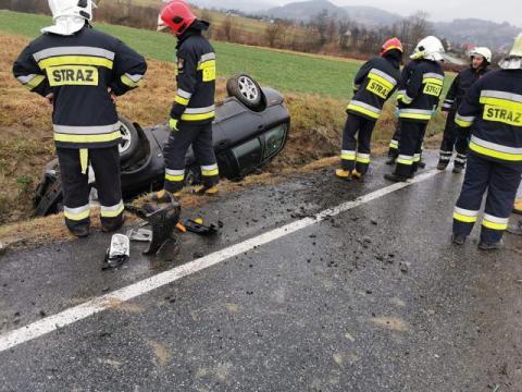 W gminie Limanowa doszło do wypadków w Boże Narodzenie